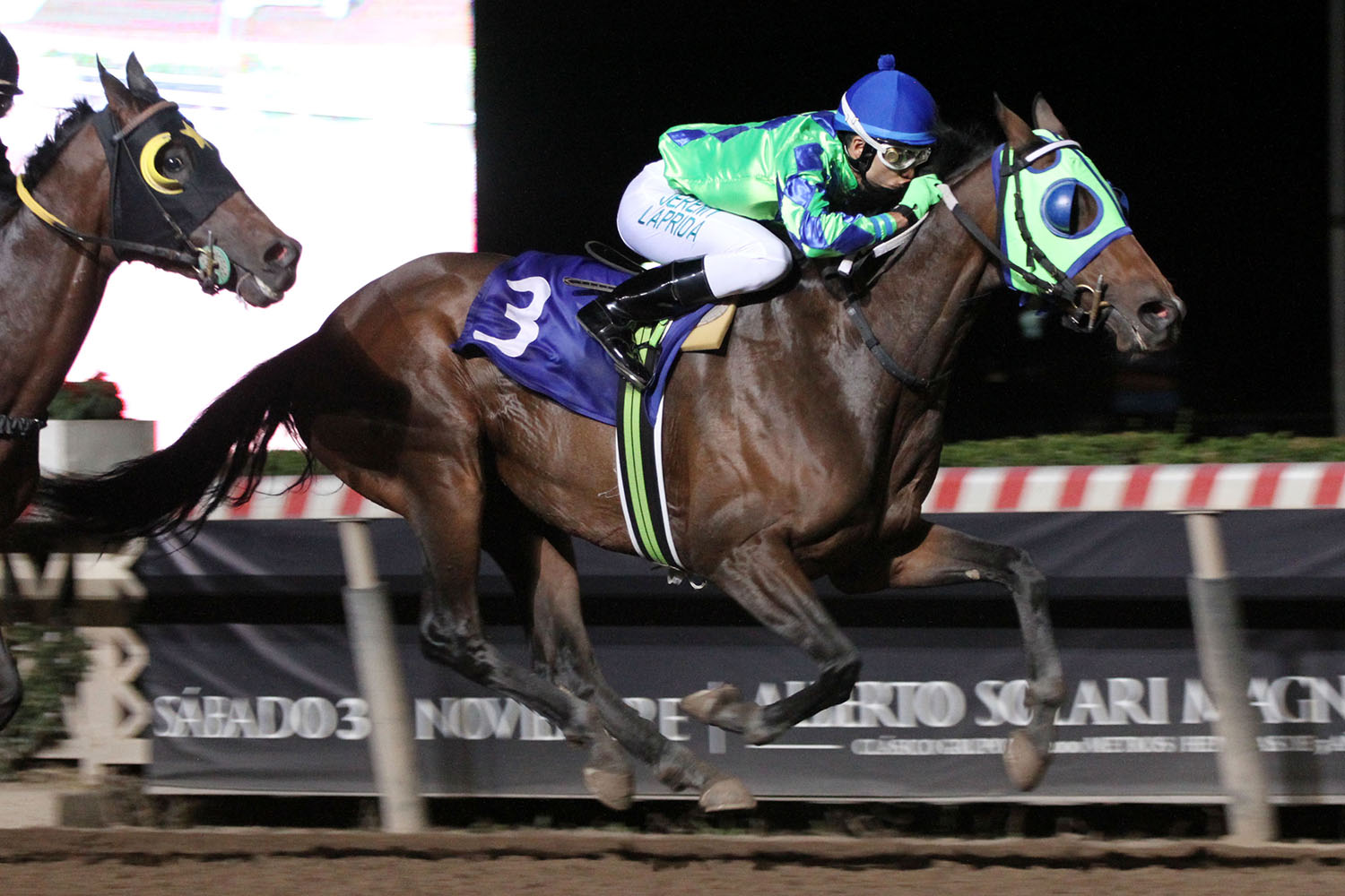 Cherokee Queen (Bluegrass Cat) brilla en Handicap (1200m-Arena-HCH). - Staff ElTurf.com